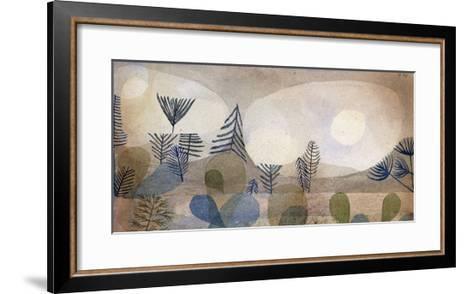 Oceanic Landscape-Paul Klee-Framed Art Print
