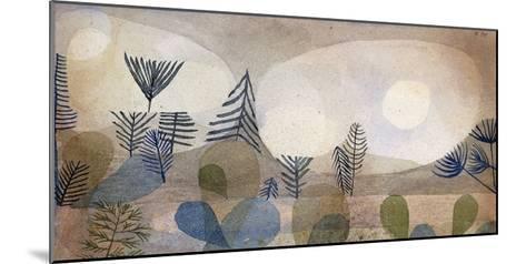 Oceanic Landscape-Paul Klee-Mounted Giclee Print