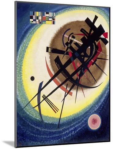 The Bright Oval-Wassily Kandinsky-Mounted Giclee Print