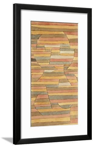 Solitary-Paul Klee-Framed Art Print