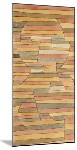Solitary-Paul Klee-Mounted Giclee Print