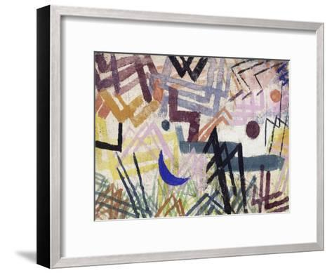 The Power of Play in a Lech Landscape-Paul Klee-Framed Art Print
