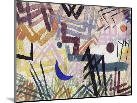 The Power of Play in a Lech Landscape-Paul Klee-Mounted Giclee Print