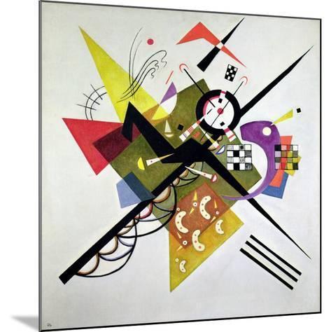 On White II-Wassily Kandinsky-Mounted Giclee Print