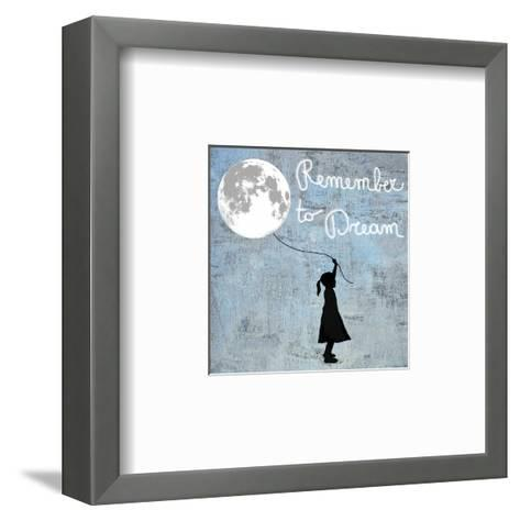 Remember to Dream-Masterfunk collective-Framed Art Print