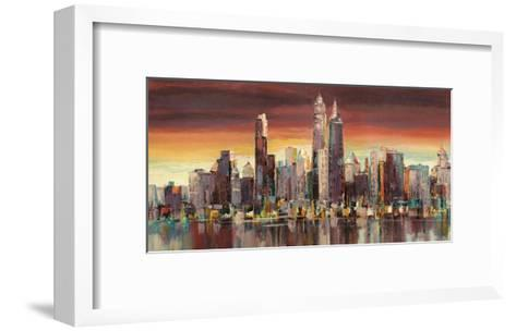 Sera su New York-Luigi Florio-Framed Art Print