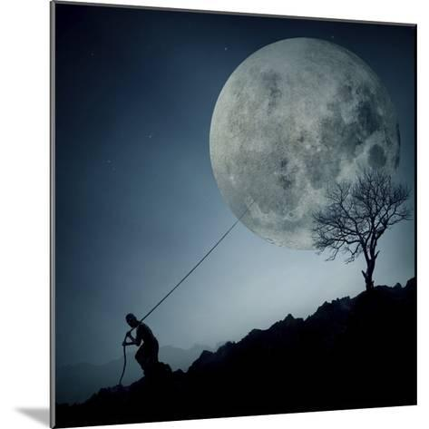 The Dreamer-Final Toto-Mounted Giclee Print