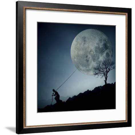 The Dreamer-Final Toto-Framed Art Print