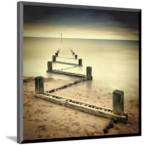 Beach Memories-Michael Oates-Mounted Giclee Print