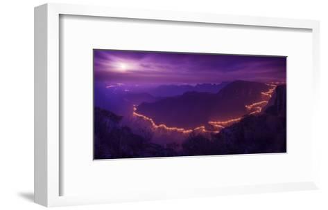 Lights Of The Night-Raphael Sombrio-Framed Art Print