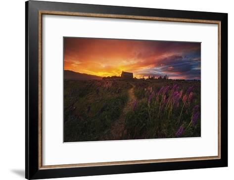 In The Wind-Yan Zhang-Framed Art Print