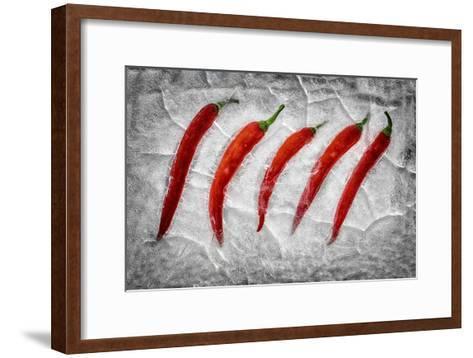 Frozen Fire-Secundino Losada-Framed Art Print