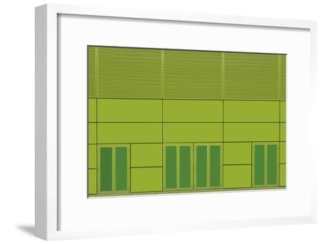 Green Home-Jan Niezen-Framed Art Print