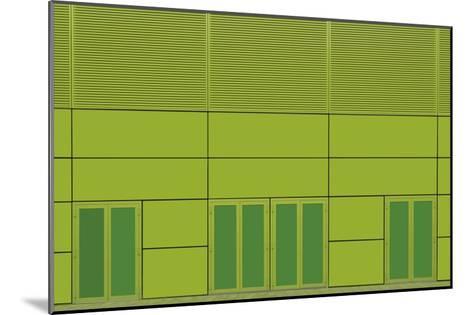 Green Home-Jan Niezen-Mounted Giclee Print
