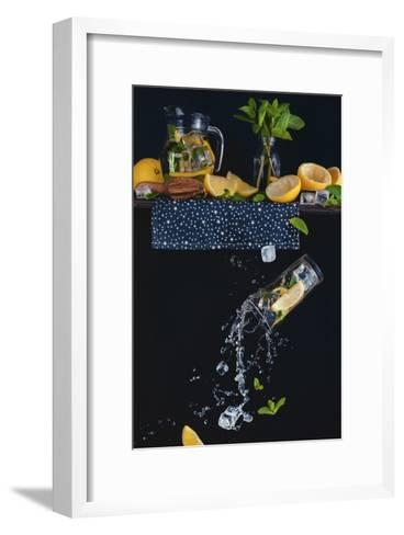 Lemonade From The Top Shelf-Dina Belenko-Framed Art Print