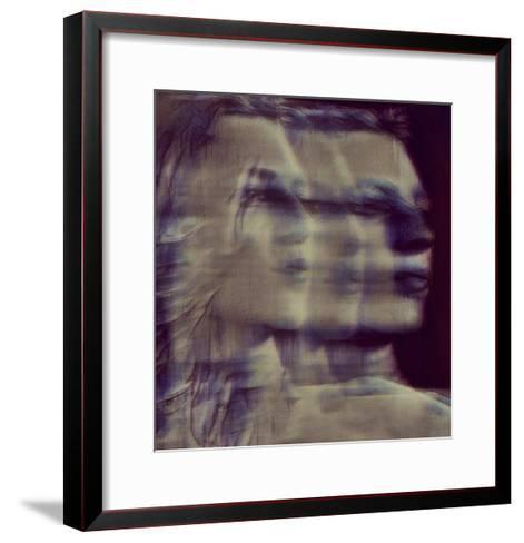 A Quiet Darkness (shadows)-Dalibor Davidovic-Framed Art Print
