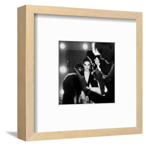 Back Stage-Didier Guibert-Framed Art Print
