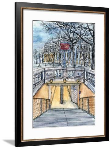 City Scene VI-Melissa Wang-Framed Art Print