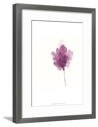 Expressive Blooms I-June Erica Vess-Framed Art Print