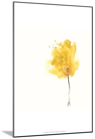 Expressive Blooms VII-June Erica Vess-Mounted Art Print
