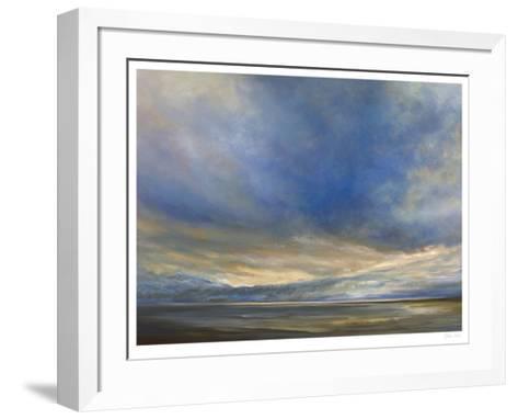 Clouds on the Bay II-Sheila Finch-Framed Art Print