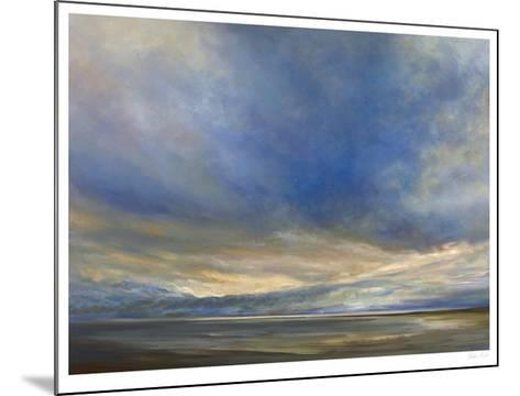 Clouds on the Bay II-Sheila Finch-Mounted Limited Edition