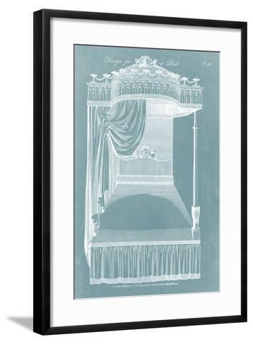 Design for a Bed I-Hepplewhite-Framed Art Print