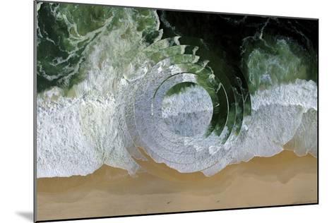 Sea Wave II-Melissa Wang-Mounted Art Print
