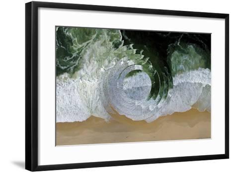 Sea Wave II-Melissa Wang-Framed Art Print