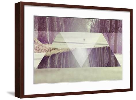 Path-Melissa Wang-Framed Art Print