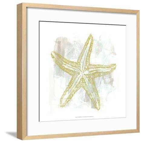 Seaside Blockprints IV-June Erica Vess-Framed Art Print