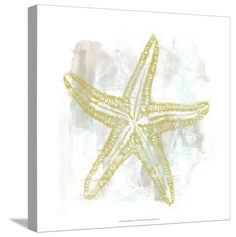 Seaside Blockprints IV-June Erica Vess-Stretched Canvas Print