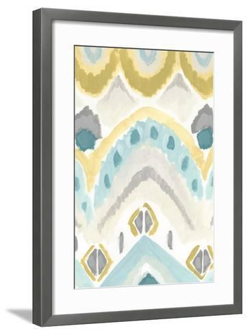 Textile Impression I-June Erica Vess-Framed Art Print
