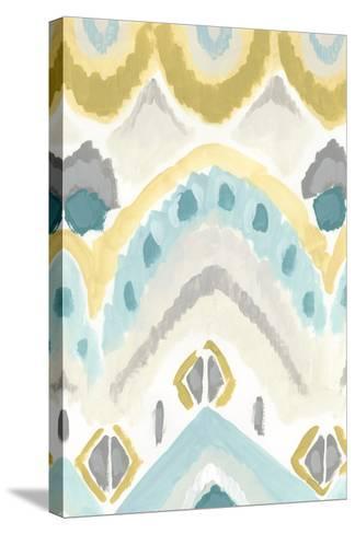 Textile Impression I-June Erica Vess-Stretched Canvas Print