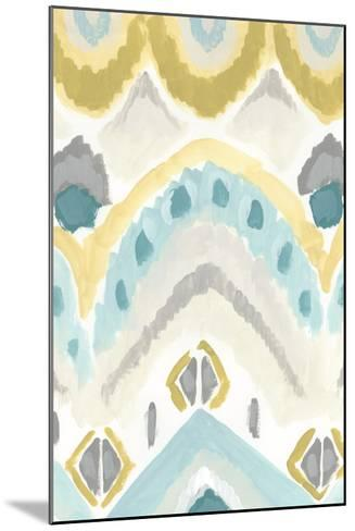 Textile Impression I-June Erica Vess-Mounted Giclee Print