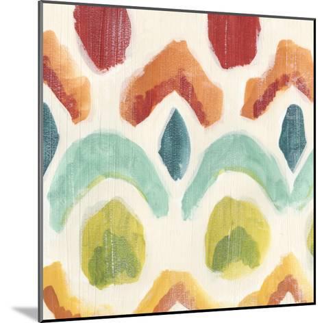 Textile Kaleidoscope I-June Erica Vess-Mounted Giclee Print