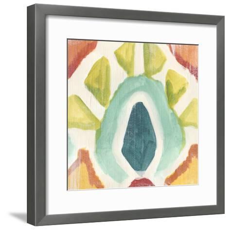 Textile Kaleidoscope II-June Erica Vess-Framed Art Print
