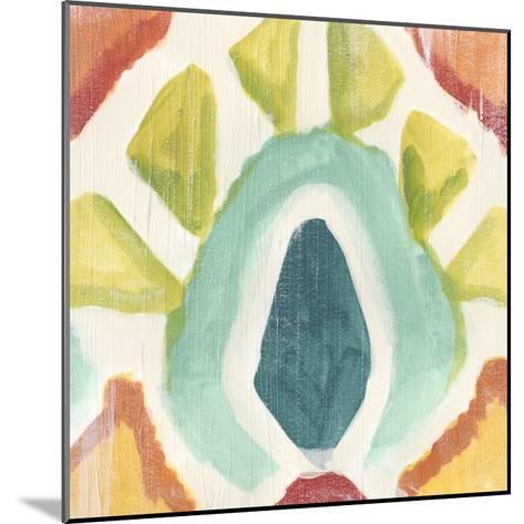 Textile Kaleidoscope II-June Erica Vess-Mounted Giclee Print