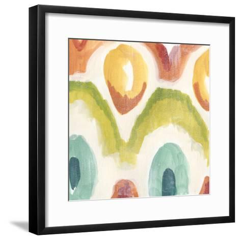Textile Kaleidoscope III-June Erica Vess-Framed Art Print