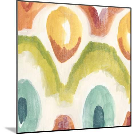 Textile Kaleidoscope III-June Erica Vess-Mounted Giclee Print