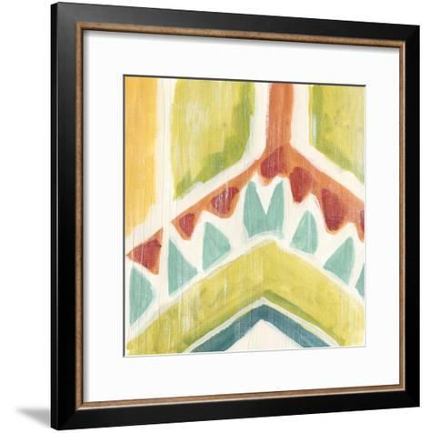 Textile Kaleidoscope IV-June Erica Vess-Framed Art Print
