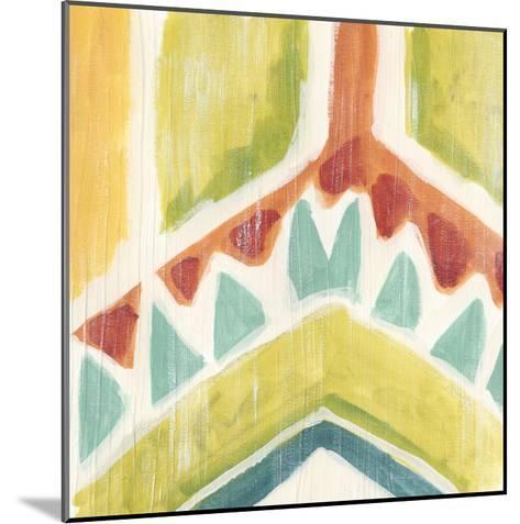 Textile Kaleidoscope IV-June Erica Vess-Mounted Giclee Print