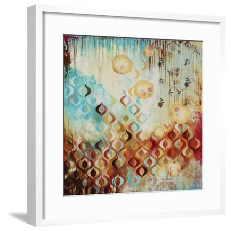 Ditsy-Heather Robinson-Framed Art Print