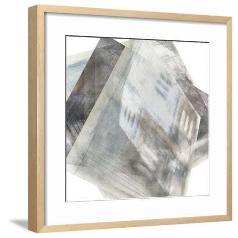 Faceted Illusion I-Jennifer Goldberger-Framed Art Print