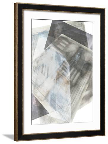 Faceted Illusion III-Jennifer Goldberger-Framed Art Print