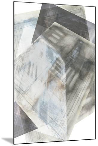 Faceted Illusion III-Jennifer Goldberger-Mounted Giclee Print