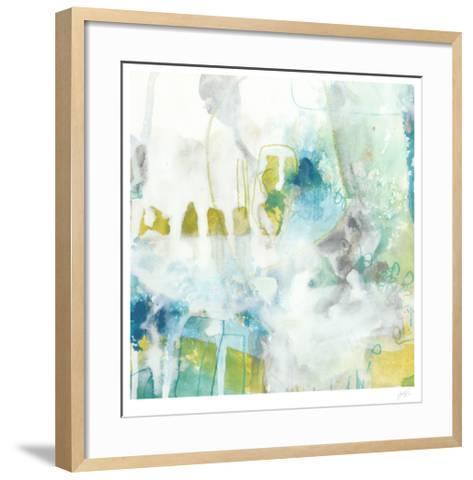 Aquatic Atmosphere IV-June Erica Vess-Framed Art Print