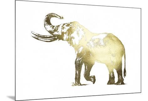 Gold Foil Elephant I-Ethan Harper-Mounted Art Print