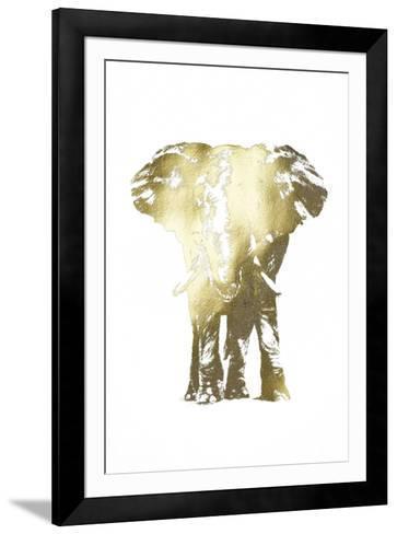 Gold Foil Elephant II-Ethan Harper-Framed Art Print