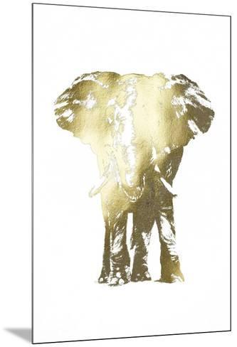 Gold Foil Elephant II-Ethan Harper-Mounted Art Print